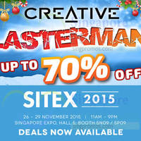 Creative SITEX Deals Online From 26 Nov 2015