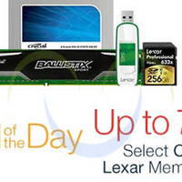 Read more about Crucial & Lexar Memory Products Up To 75% Off 24hr Promo 26 - 27 Nov 2015