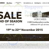 Read more about Dsquared2, MaxMara, Max&Co, Marella, iBlues & Y-3 Sale 19 - 22 Nov 2015