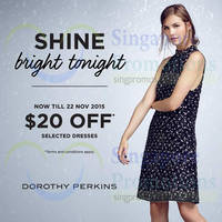Read more about Dorothy Perkins $20 Off Selected Dresses 3 - 22 Nov 2015