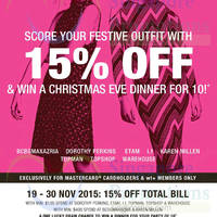 Read more about F3 Brands 15% Off For MasterCard Cardholders 19 - 30 Nov 2015