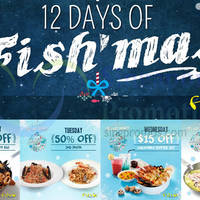 Fish & Co 1-for-1, 50% Off & More Coupons (Mon-Thurs) From 30 Nov - 17 Dec 2015
