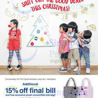 Fox Kids & Baby 15% Off For Citibank Cardmembers 27 Nov - 13 Dec 2015