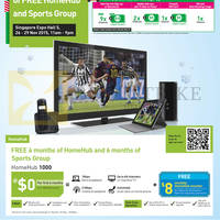 Read more about Starhub SITEX 2015 Broadband, Mobile, Cable TV & Other Offers 26 - 29 Nov 2015