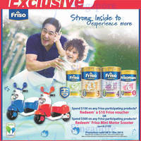 Read more about Friso Spend & Redeem $10 Voucher or Mini Motor Scooter 20 Nov - 31 Dec 2015