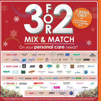 Read more about Guardian Buy 2 Get 1 Free Selected Personal Care Brands 5 - 18 Nov 2015
