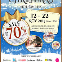 Read more about Home-Fix Warehouse Sale 12 - 22 Nov 2015