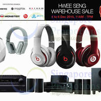 Read more about Hwee Seng Audio Warehouse Sale 4 - 6 Dec 2015