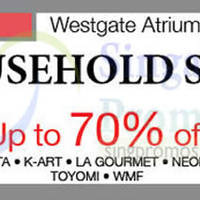 Read more about Isetan Jurong East Household Sale @ Westgate 16 - 22 Nov 2015