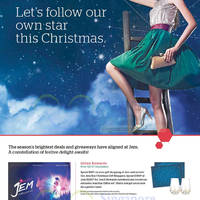 Read more about Jem Follow Our Own Star This Christmas Promotions & Activities 20 Nov - 27 Dec 2015