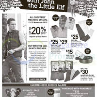 Read more about John Little Up to 20% Off Promotion 12 - 15 Nov 2015