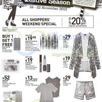 Read more about John Little Up to 20% Off Promotion 19 - 22 Nov 2015
