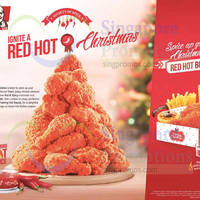 KFC Red Hot Chicken is BACK From 25 Nov 2015