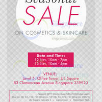 Read more about Kanebo Cosmetics & Skincare SALE @ UE Square 12 - 13 Nov 2015