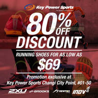 Read more about Key Power Brooks, Newton & 2XU Compression Shoes Promo @ Changi City Point From 23 Nov 2015