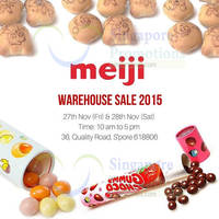 Read more about Meiji Warehouse SALE 27 - 28 Nov 2015