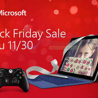 Microsoft Store Black Friday Promotions 26 - 30 Nov 2015