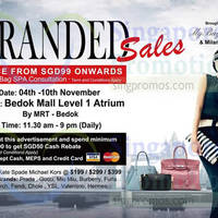Read more about MyBagEmpire Branded Handbags & Accessories Sale @ Bedok Mall 4 - 10 Nov 2015