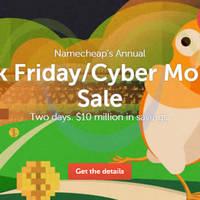 Read more about Namecheap Black Friday & Cyber Monday Sale 27 Nov - 1 Dec 2015