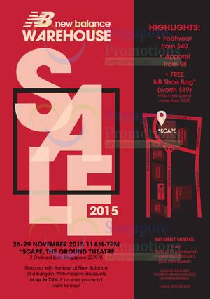 new balance warehouse sale
