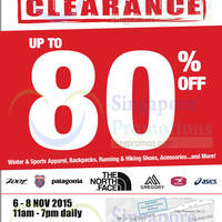 Read more about Outdoor Venture Warehouse Clearance Sale 6 - 8 Nov 2015