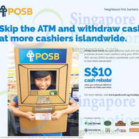 Read more about POSB Cash-Points Withdraw & Get $10 Cash Rebate From 7 Nov - 31 Dec 2015