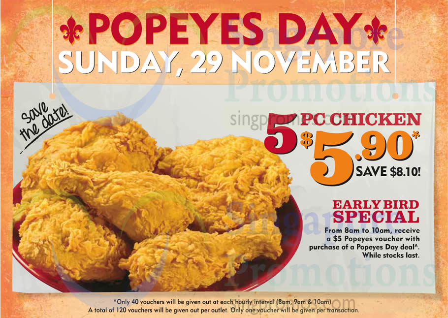 image relating to Popeyes Coupon Printable named Popeyes discount coupons nov 2019