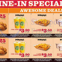 Read more about Popeyes Dine-in Discount Coupons 17 Nov - 27 Dec 2015