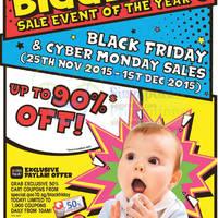 Qoo10.sg Black Friday & Cyber Monday Sale 25 Nov - 1 Dec 2015