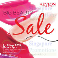 Read more about Revlon Big Beauty Sale 3 - 6 Nov 2015