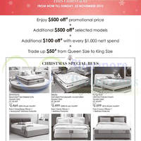 Read more about Robinsons Bedshop Mattress Offers 14 - 22 Nov 2015