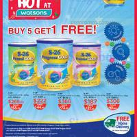 Read more about S-26 Progress Gold Milk Powder Buy 5 Get 1 Free Promo 7 Nov - 9 Dec 2015