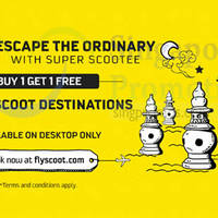 Read more about Scoot 1-for-1 Fares Promotion (7am to 12pm) 24 Nov 2015