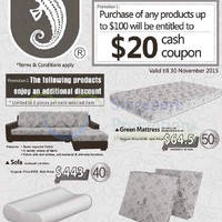 Read more about Sea Horse $20 Cash Coupon Promotion 21 - 30 Nov 2015