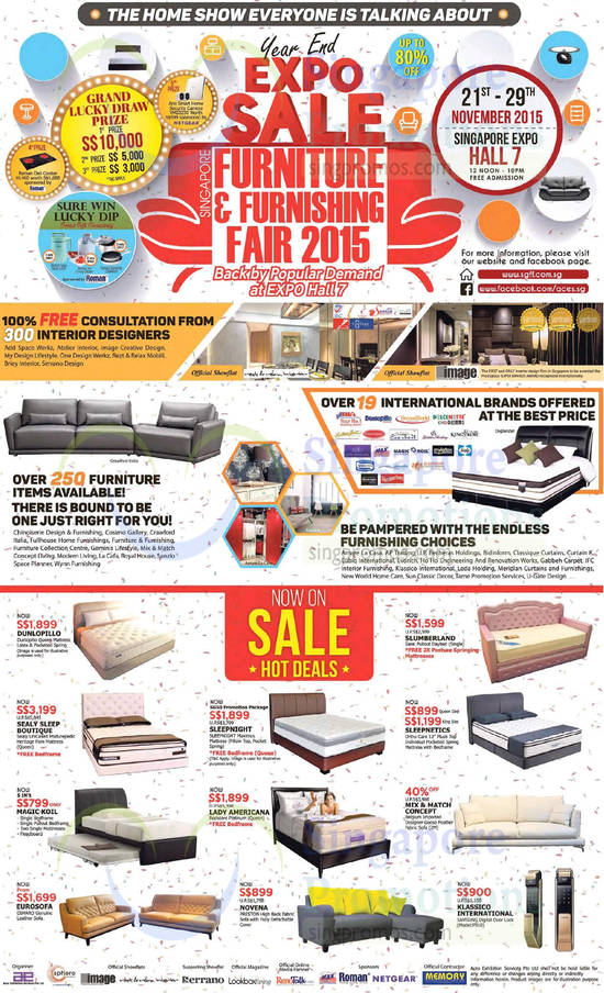 Singapore Furniture Furnishing Fair 2015 Singapore