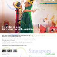 Read more about Standard Chartered Card Apply & Get $100 Cashback 17 Nov 2015 - 31 Mar 2016