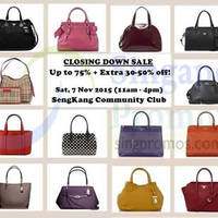 Read more about Surprisel Closing Down Sale @ Sengkang Community club 7 Nov 2015