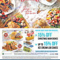 Read more about Swensen's Up To 15% Off Christmas Items For ANZ Cardmembers 5 Nov - 31 Dec 2015