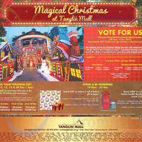 Read more about Tanglin Mall Magical Christmas Promotions & Activities 14 Nov - 25 Dec 2015