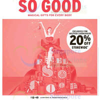Read more about The Body Shop 20% Off Storewide for DBS/POSB Cardholders 19 - 30 Nov 2015