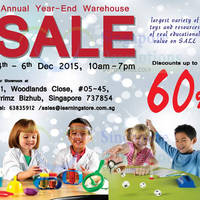 Read more about The Learning Store Warehouse Sale 4 - 6 Dec 2015