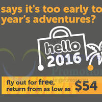 Read more about TigerAir fr $54 Fly out for Free, Pay to Return Promo Fares 10 - 15 Nov 2015