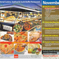 Read more about Todai Buffet Restaurant November Promotion @ Marina Bay Sands 2 - 30 Nov 2015