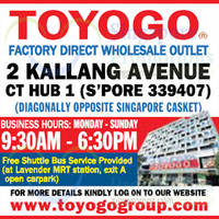 Read more about Toyogo New Outlet at CT Hub From 10 Nov 2015