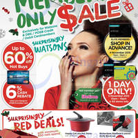 Read more about Watsons Up To 60% Off 1-Day Sale @ 62 Stores 5 Nov 2015