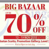 Read more about Wacoal Big Bazaar @ Isetan Scotts 13 - 19 Nov 2015