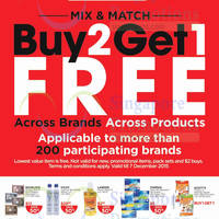 Read more about Watsons Buy 2 Get 1 Free Mix & Match Promotion 19 Nov - 7 Dec 2015