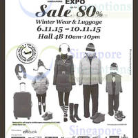 Read more about Winter Time Extravagant Sales @ Singapore Expo 6 - 10 Nov 2015
