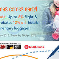 Read more about Zuji Singapore 12% OFF Hotels Coupon Code (NO Min Spend) For OCBC Cardmembers 2 - 29 Nov 2015