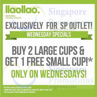 Read more about llaollao Wednesdays Specials @ Singapore Polytechnic From 18 Nov 2015